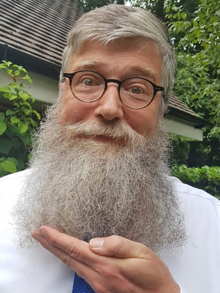 Philip Ardagh and his stupendous beard appointed to Listowel Writers' Week Advisory Board